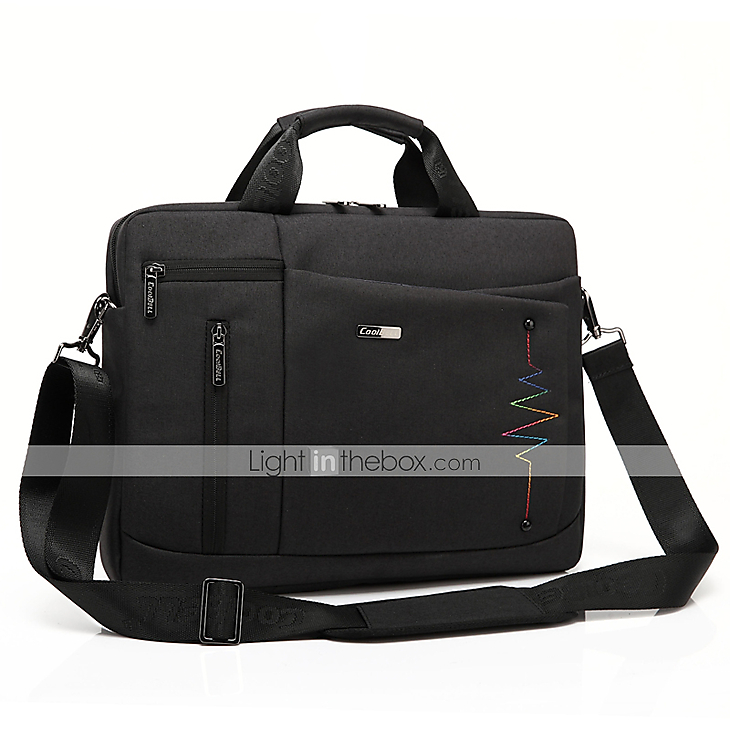 fa7030609d8c CoolBell 15.6 Inch Protective Messenger Bag Nylon Multi-functional ...