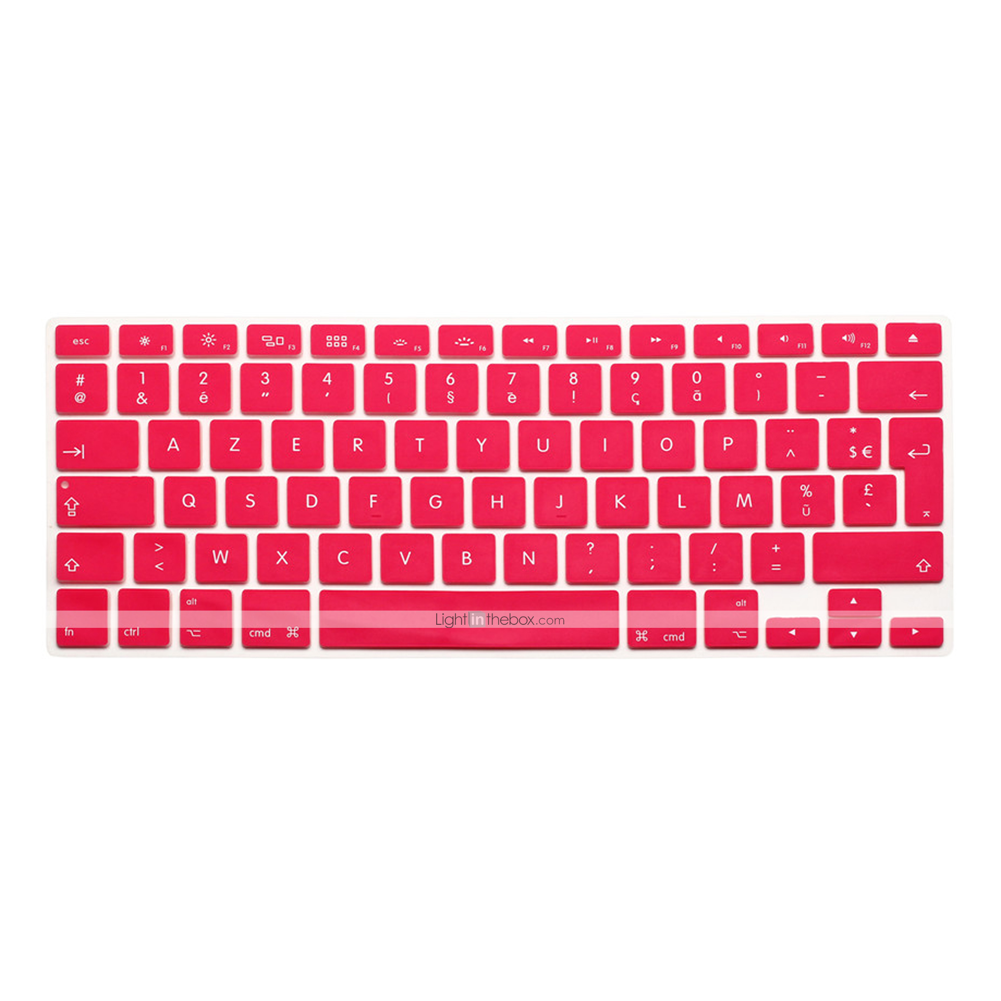 Film Pour Clavier for MacBook Air Pro Retina 13 15 17 Protector New Silicone Spanish Letter Keyboard Cover for Mac Book Keyboard Spanish Spain EU-Yellow