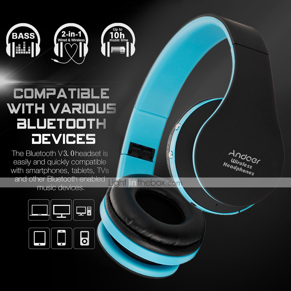 32e165a3e86 Wireless Wireless Headphones Plastic Travel & Entertainment Earphone ...