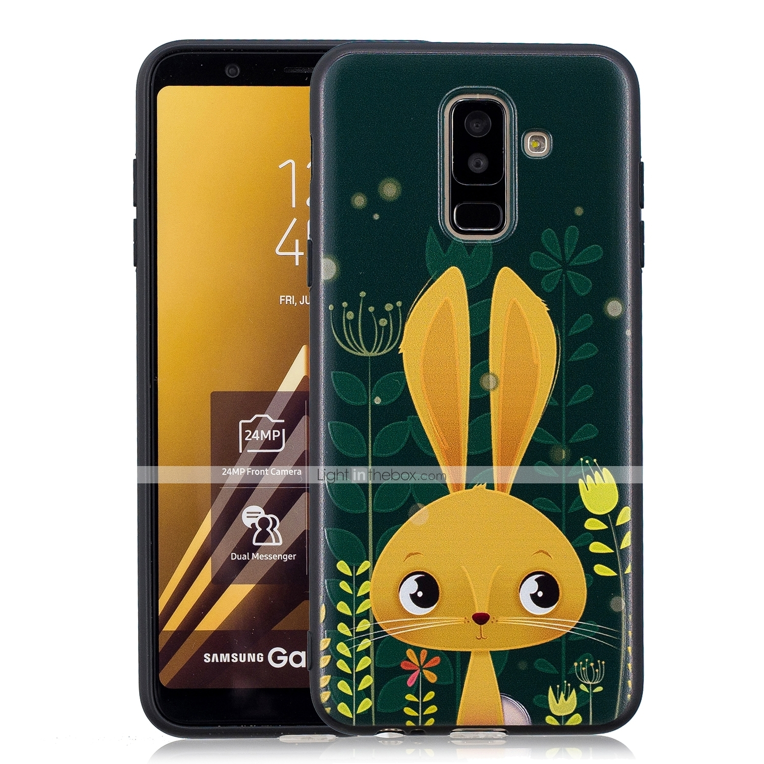 Case For Samsung Galaxy A6 (2018) / A6+ (2018) / Galaxy A7(2018) Pattern  Back Cover Animal Soft TPU