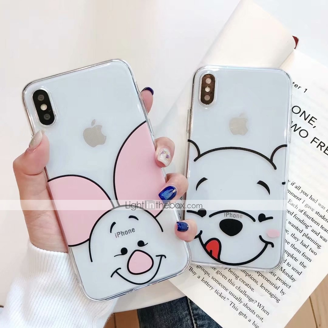 67dfa0b5482 Case For Apple iPhone XS Max / iPhone 6 Pattern Back Cover Cartoon Soft TPU  for iPhone XS / iPhone XR / iPhone XS Max #07215467
