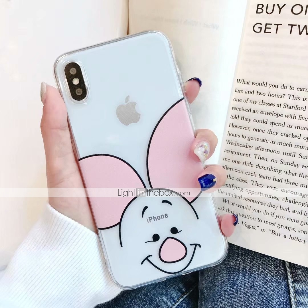 42807c2268c Case For Apple iPhone XS Max / iPhone 6 Pattern Back Cover Cartoon ...
