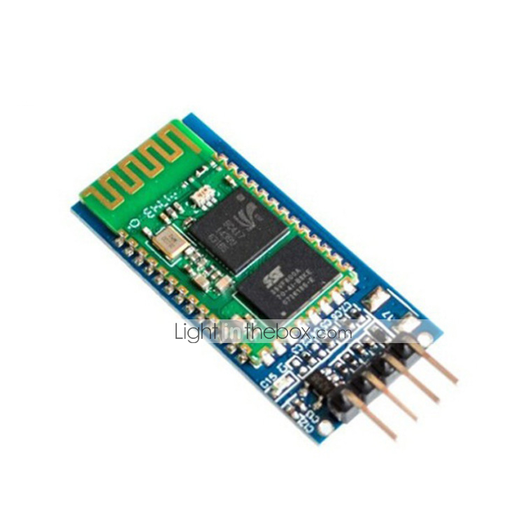 HC-06 Bluetooth Serial Pass-Through Module Wireless Serial Communication Compatible with Arduino(2pcs)