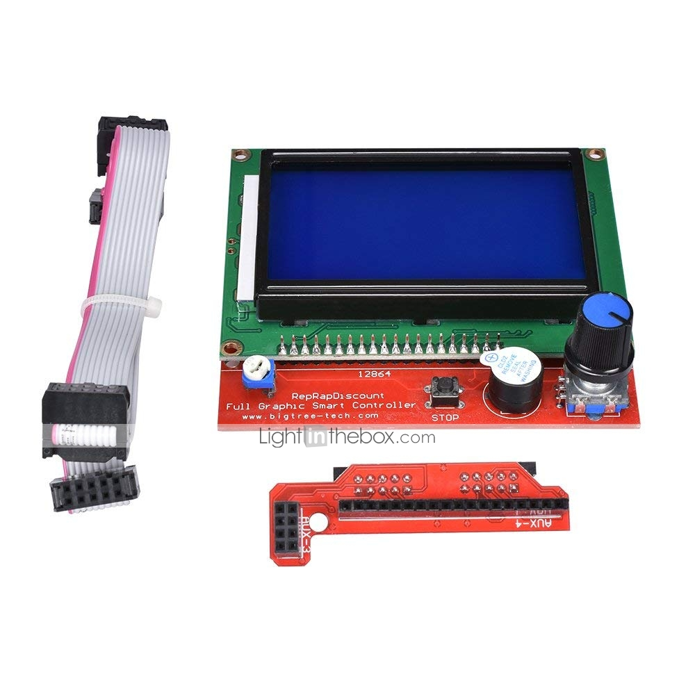ILS Mini 12864 SD Card Expansion Module External Card Reader Connector Adapter SD Card Reader V1.1 for LCD Display for 3D Printer