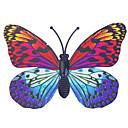 povoljno Ukrasne figurice-sjaj-in-tamno leptir 6pcs dom 3d leptir zidne naljepnice s pin&magnet zavjese hladnjak dekoracija