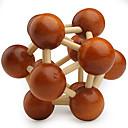 ieftine Cuburi Magice-Mingi Puzzle Lemn Jocuri IQ nivel profesional Viteză De lemn Clasic & Fără Vârstă Băieți Cadou