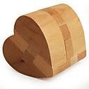 ieftine Cuburi Magice-Puzzle Lemn / Jocuri IQ Inimă nivel profesional / Viteză De lemn Clasic & Fără Vârstă Băieți Cadou