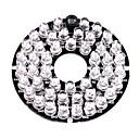 povoljno CCTV sustavi-Infracrvena lampica 48-LED Illuminator Board Plate for 3.6mm Lens Security Camera za sigurnosti sustavi 6*6*1.5cm 0.015kg