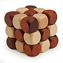 ieftine Cuburi Magice-Puzzle Lemn Jocuri IQ nivel profesional Viteză De lemn Clasic & Fără Vârstă Băieți Fete Jucarii Cadou