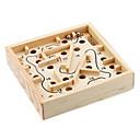 ieftine Instrumente Scris & Desen-Magic Cube IQ Cube De lemn Străin Cub Viteză lină Labirintul din lemn Cuburi Magice Labirint puzzle cub nivel profesional Viteză Clasic & Fără Vârstă Jucarii Băieți Fete Cadou