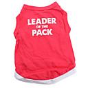 ieftine Imbracaminte & Accesorii Căței-Câine Tricou Îmbrăcăminte Câini Respirabil Rosu Costume Bumbac Inimă Animal XS S M L