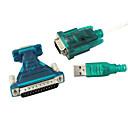 ieftine USB-uri-USB 2.0 de 9/25 de pini serial RS232 cablu db9/db25 adaptor