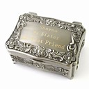 ieftine Mărgele & Producere Bijuterii-Cutie Cutii de Bijuterii - Personalizat, Strălucire, Vintage, DIY Argint 9 cm 6 cm 4 cm / Nuntă / Aniversare / Cadou / aleasă a inimii