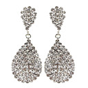 voordelige Galaxy Ace 4 Hoesjes / covers-Dames Druppel oorbellen Bloemen Bruiloft Strass Gesimuleerde diamant oorbellen Sieraden Voor Dagelijks