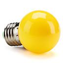 povoljno LED svjetla u traci-1pc 1 W LED okrugle žarulje 80 lm E26 / E27 G45 8 LED zrnca SMD 2835 Ukrasno Žuto 220-240 V / RoHs