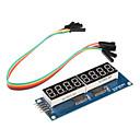 ieftine Plăci de Bază-8 x afișează șapte segmente pentru modul (pentru Arduino) (595 conducător auto)
