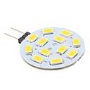 رخيصةأون مصابيح ليد ثنائية-2 W أضواء LED Bi Pin 240 lm G4 12 الخرز LED SMD 5630 أبيض دافئ 12 V / # / CE