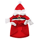 رخيصةأون وسائد-قط كلب ازياء تنكرية المعاطف ملابس الشتاء ملابس الكلاب كوستيوم قطن الكوسبلاي Halloween عيد الميلاد XS S M L XL
