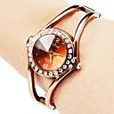 ieftine Ceasuri Damă-Pentru femei Ceas La Modă Ceas Brățară Quartz Aliaj Bandă Sclipici Brățară rigidă Elegant Bronz