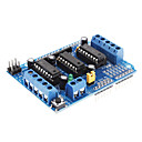 cheap Motherboards-L293D Motor Driver Expansion Board Motor Control Shield (Blue)
