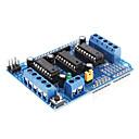 رخيصةأون النماذج-L293D توسيع سائق موتور للسيارات التحكم درع المجلس (الأزرق)