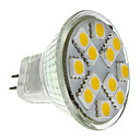 povoljno Narukvice-2 W LED reflektori 160 lm GU4(MR11) MR11 12 LED zrnca SMD 5050 Toplo bijelo 12 V
