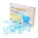 povoljno Ukrasne naljepnice-Srca 3D Crystal puzzle Valentinovo dar (46pcs, Model: 9001, slučajni boja)
