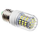 povoljno LED noćna rasvjeta-3 W LED klipaste žarulje 6500 lm E26 / E27 60 LED zrnca SMD 3528 Prirodno bijelo 220-240 V 110-130 V / #