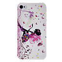 ieftine Carcase iPhone-Maska Pentru iPhone 4/4S / Apple iPhone 4s / 4 Capac Spate Greu PC