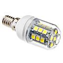 olcso LED kukorica izzók-brelong 1 db e14 27led smd5050corn könnyű ac220v fehér fény
