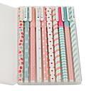 رخيصةأون سجادات-10 قطعة / الوحدة جديد لطيف الكرتون الملونة هلام القلم مجموعة كوايي الكورية القرطاسية الإبداعية هدية