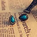ieftine Bijuterii de Nuntă & Party-Vintage Stil European Ștras cercei Bijuterii Albastru Pentru Zilnic Birou și carieră