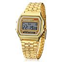رخيصةأون ربطات العقدة-رجالي ساعة المعصم ساعة رقمية رقمي ذهبي المنبه رزنامه الكرونوغراف رقمي سحر - ذهبي سنة واحدة عمر البطارية / LCD / SODA AG4
