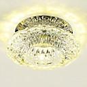 رخيصةأون القلائد-LightMyself™ تركيب السقف المدمج ضوء سفل كريستال, استايل مصغر, LED 110-120V / 220-240V أبيض دافئ / أبيض بارد / LED متكاملة