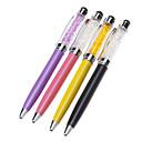 رخيصةأون لعب-الكريستال مليئة شاشة عالية الحساسية تعمل باللمس ستايلس قلم حبر جاف لفون / آي باد وآخرون (ألوان متنوعة)
