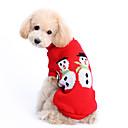 رخيصةأون ملابس وإكسسوارات الكلاب-كلب البلوزات الشتاء ملابس الكلاب كوستيوم الصوفية لون سادة الدفء عيد الميلاد XS S M L XL