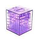 povoljno Dijelovi za motocikle i ATV-Novac Maze Coin Box Puzzle Game nagrada Štednja banka unutar Ball (Random boja)