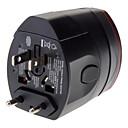 ieftine Cabluri de Adaptor AC & Curent-conector de perete de călătorie din lume cu adaptor de alimentare cu port USB dual