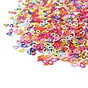 1 pcs Lovely Acrylic Glitter Powder Nail Art Kit Nail Jewelry Finger nail art Manicure Pedicure Daily Cartoon / Wedding / Fashion