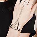 ieftine Ring Bracelets-Pentru femei Ring Bracelets Sclavii de aur Aliaj Bijuterii brățară Bronz / Auriu / Argintiu Pentru Petrecere Zilnic Casual