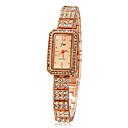 ieftine Colier la Modă-Pentru femei Diamond Watch ceas de aur Piața de ceas Quartz Auriu Auriu Argintiu