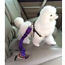 رخيصةأون خواتم-كلب ماسك أمان الكلب / ماسك معقد السيارة للكلب قابل للسحبقابل للتعديل الأمان لون سادة نايلون أحمر أزرق زهري