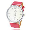 preiswerte Armband-Damen Uhr Quartz Schwarz / Rot / Braun Schwarz Braun Rot