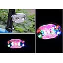 ieftine Lumini & Reflectorizante-LED Lumini de Bicicletă Iluminat Bicicletă Spate lumini de securitate Ciclism montan Bicicletă Ciclism Rezistent la apă Portabil Alarmă Atenţie Baterii Cell Baterie Ciclism - FJQXZ / IPX-4