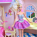 cheap iPhone Cases-Doll Dress For Barbiedoll Solid Color Polyester Dress For Girl's Doll Toy