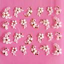ieftine Ustensile & Gadget-uri de Copt-1 pcs 3D Acțibilduri de Unghii Încântător nail art pedichiura si manichiura Zilnic Floare / Modă / 3D pentru autocolante