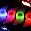 ieftine Breloc LED-LED Lumini de Bicicletă lumini intermitente capac robinet lumini roți Biciclete spoke luminile Bicicletă Ciclism Rezistent la apă Multicolor Ciclism / IPX-4