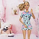رخيصةأون صناديق الصيد-دمية اللباس كاجوال إلى Barbie البوليستر فستان إلى لفتاة دمية لعبة