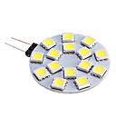 ieftine Becuri LED Bi-pin-Spoturi LED 480 lm G4 15 LED-uri de margele SMD 5050 Alb Cald Alb Rece 12 V