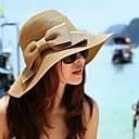 povoljno Naušnice-Žene Vintage šešir Dnevno - Jedna barva / Slamnati šešir / Ljeto / Šešir i kapa / Šešir za sunce